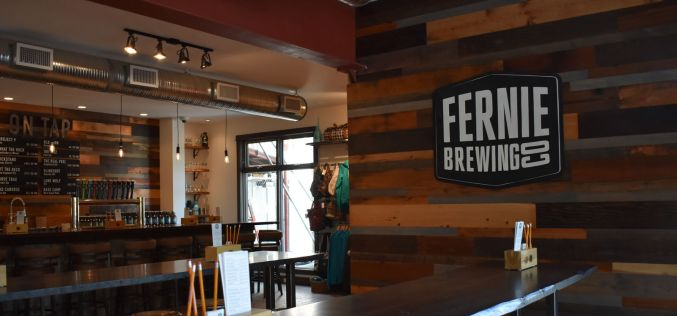 Fernie Re-Opens Iconic Brewery Tasting Room