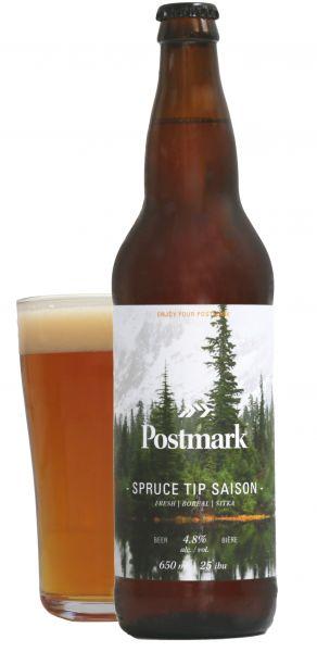 Postmark Brewing-Bomber-Pint-Spruce Saison-Studio
