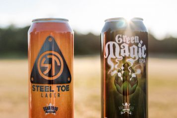 Two New Tall Cans From Dead Frog, The Steel Toe & Green Magic