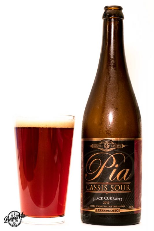 Central City Brewing Pia Cassis Sour