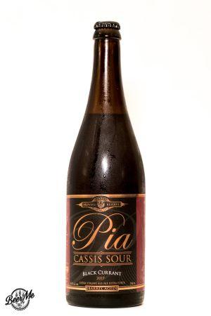Central City Brewing Pia Cassis Sour Bottle
