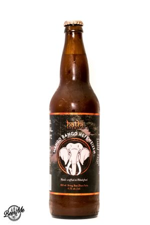 Hathi Brewing Mango Bango Hefeweizen Bottle