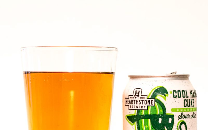 Hearthstone Brewery – Cool Hand Cuke Cucumber Sour Ale 2017