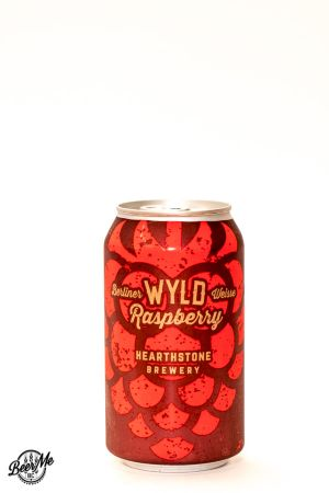 Hearthstone Brewery Wyld Raspberry Berliner Weisse Can