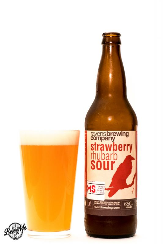 Ravens Brewing Co Strawberry Rhubarb Sour
