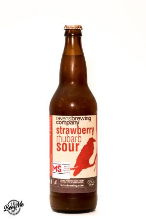 Ravens Brewing Co Strawberry Rhubarb Sour Bottle