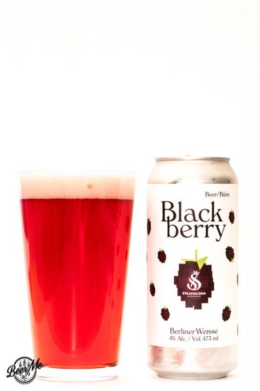 Strathcona Beer Company Blackberry Berliner Weisse