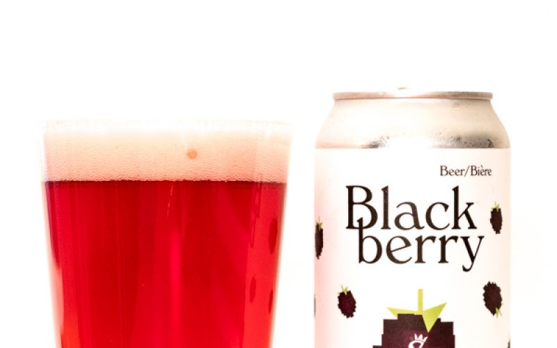 Strathcona Beer Co. – Blackberry Berliner Weisse