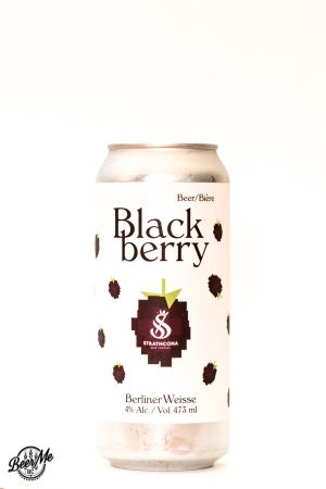 Strathcona Beer Company Blackberry Berliner Weisse Can