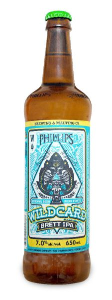 Phillips Brewing Wildcard Brett IPA