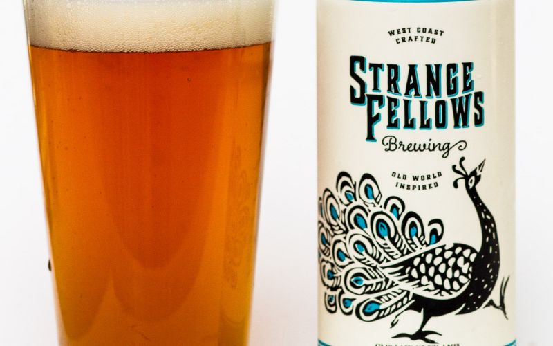 Strange fellows brewing co popinjay west coast sour ale for Strange craft beer company