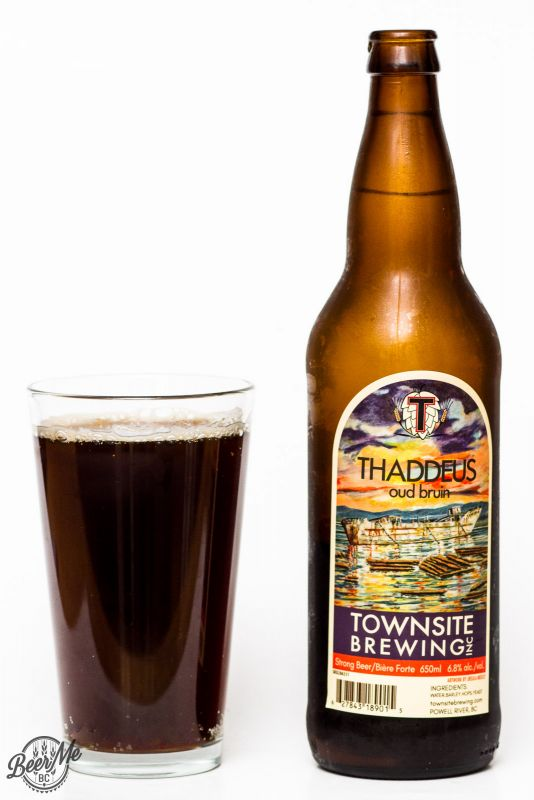 Townsite Brewing Thaddius Oud Bruin Review