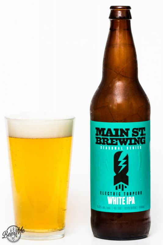 Main St. Brewing Co - Electric Torpedo White IPA Review