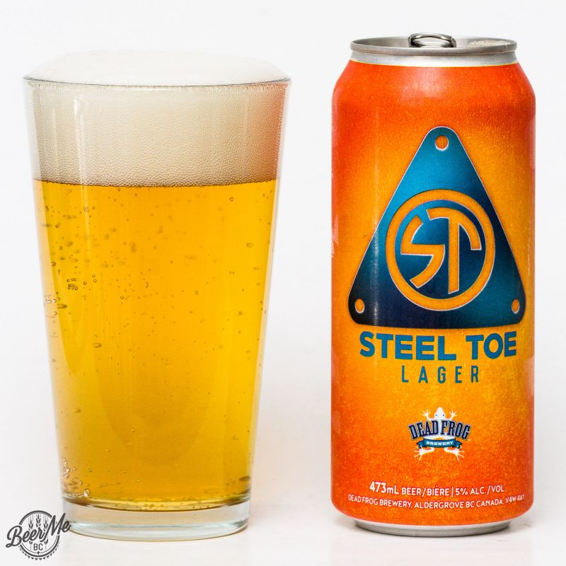 Dead Frog Brewery - Steel Toe Lager Review