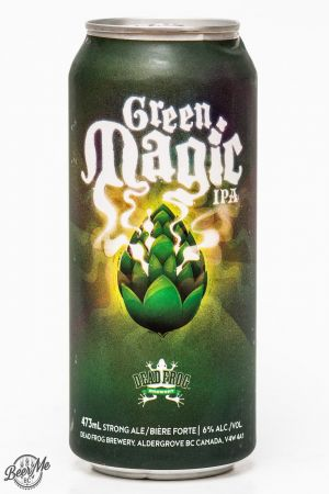 Dead Frog Brewery - Green Magic IPA Review