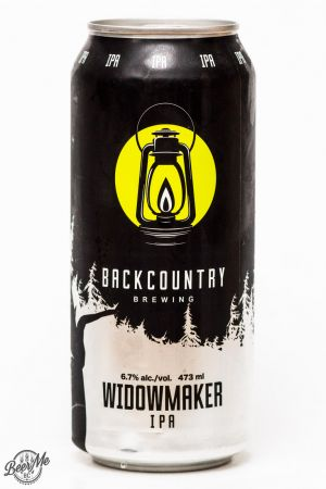 Backcountry Brewing Widowmaker IPA Review