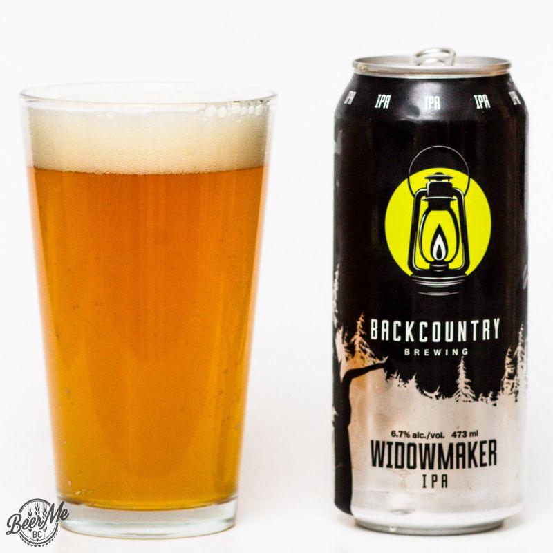 Backcountry Brewing Widowmaker IPA Review