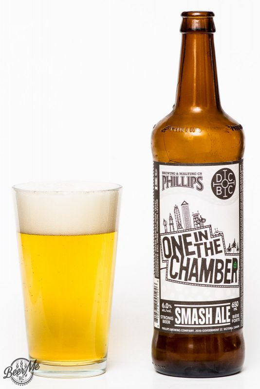 Phillips Brewing & Doans Brewery - One In The Chamber SMASH Ale Review