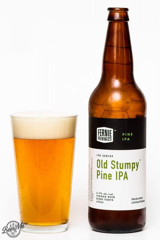 Fernie Brewing Old Stump Pine IPA