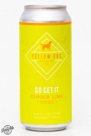 Yellow Dog Brewing Ginger Lime Gose Review