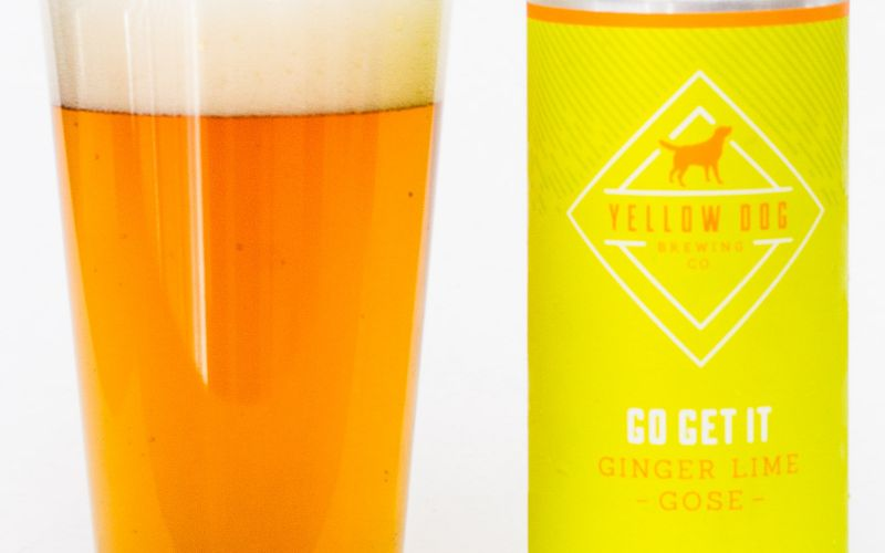 Yellow Dog Brewing Co. – Go Get It Ginger Lime Gose