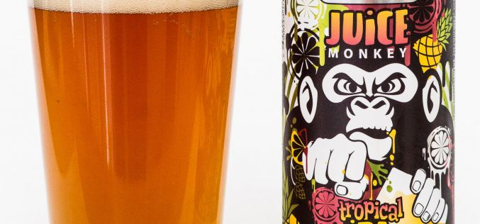 Spinnaker's Brewery – Juice Monkey Tropical IPA