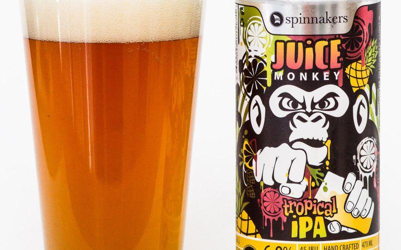 Spinnaker's Brewery – Juice Monkey Tropical IPA