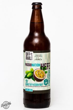 Off The Rail Brewing - Passionation Hefe Review
