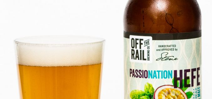 Off The Rail Brewing Co. – Passonation Hefe