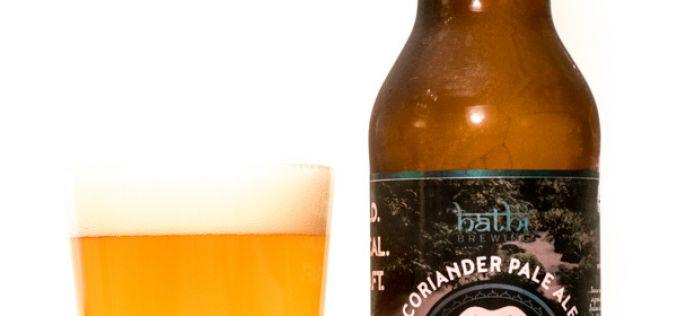 Hathi Brewing – Coriander Pale Ale