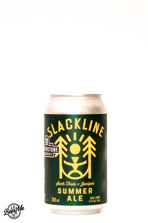 Hearthstone Brewery Slackline Summer Ale Can