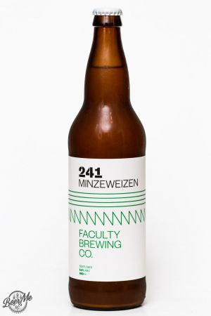 Faculty Brewing 241 Minweizen Review