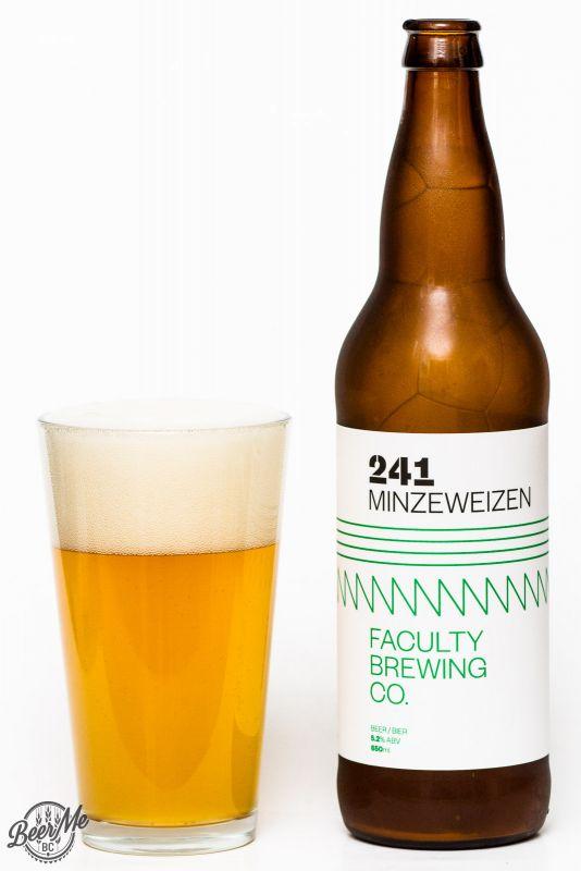 Faculty Brewing 241 Minweizen Review