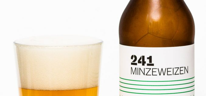 Faculty Brewing Co. – 241 Minzeweizen