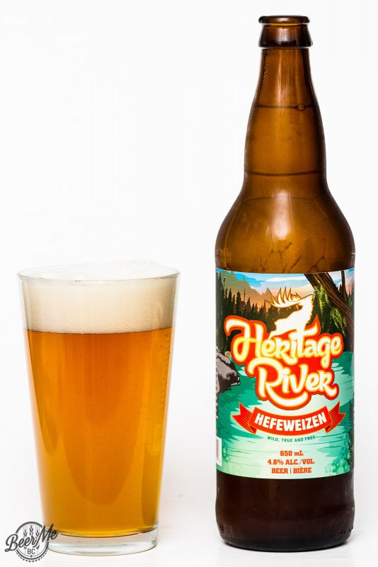Red Arrow Brewing - Heritage River Hefeweizen Review