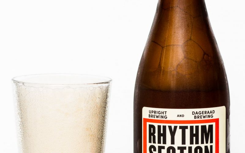 Dageraad Brewing & Upright Brewing – Rhythm Section Spiced Saison