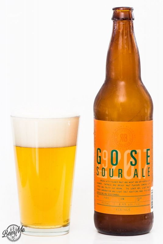 R&B Brewing Co. - Gose Sour Ale Review