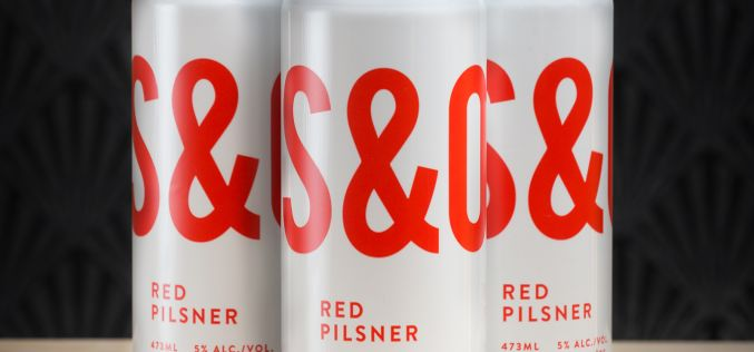 Steel & Oak Red Pilsner, now available in cans.