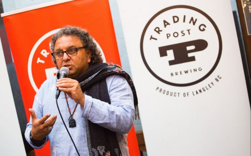 Collaboration Beer Is Here From Trading Post & Vikram Vij