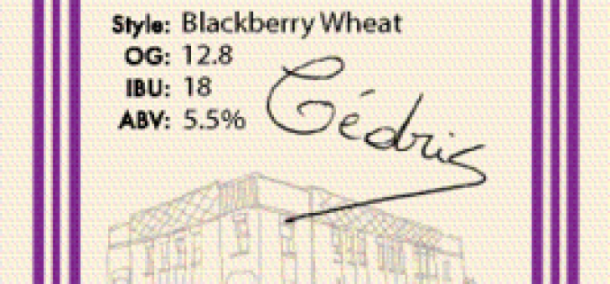 Gold Medal Winning BlackBerry Wheat Sour Returns From Townsite