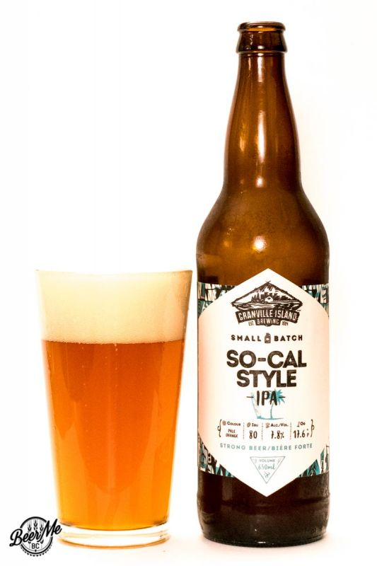Granville Island Brewing Co. So-Cal Style IPA