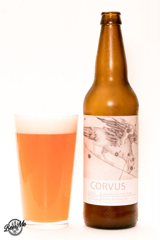Ravens Brewing Co Corvus Lingonberry Lime Gose