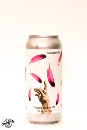 Strathcona Beer Company Catching Feathers IPA Can