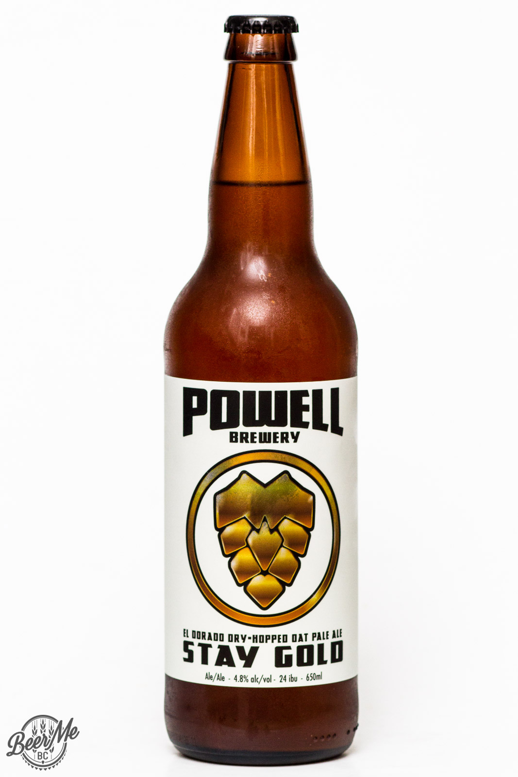 Powell Brewery – Stay Gold Pale Ale | Beer Me British Columbia