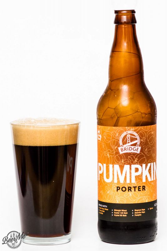 Bridge Brewing Pumpkin Porter Review