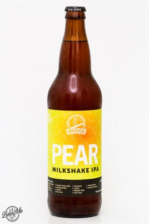Bridge Brewing - Pear Milkshake IPA Review