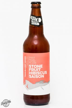 Old Yale Brewing Stone Fruit Hibiscus Saison Review