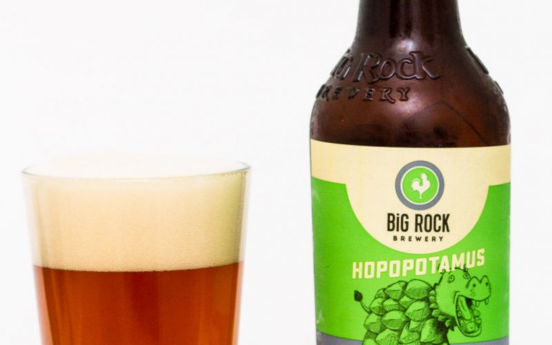 Big Rock Brewery – Hopopotamus Oak Aged IPA
