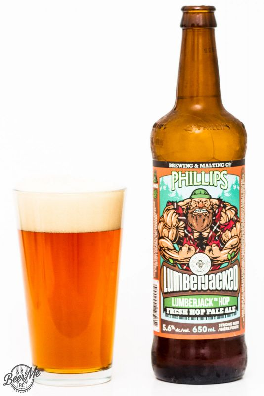 Phillips Brewing Lumberjacked Fresh Hop Pale Ale Review