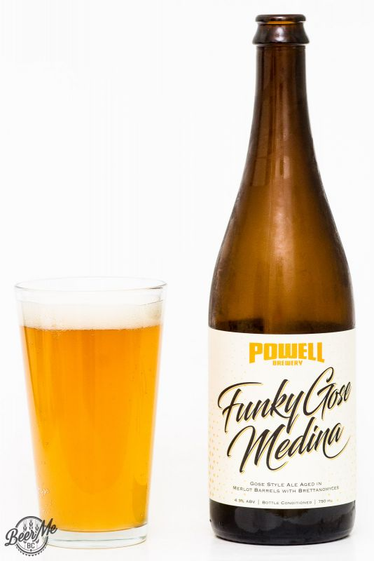 Powell Brewery Funky Gose Medina Review
